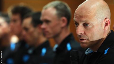 Team Sky boss Sir Dave Brailsford