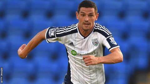 West Brom midfielder Graham Dorrans