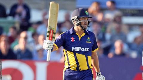 Jacques Rudolph scored 62 against Sussex in the T20 Blast but Glamorgan lost by five wickets in Hove.