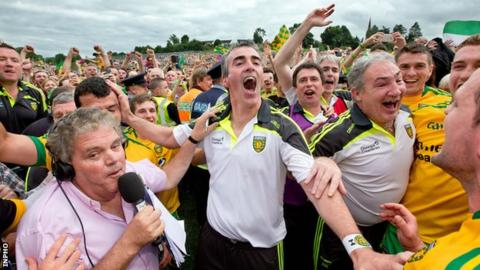Jim McGuinness has led Donegal to three Ulster titles in four years
