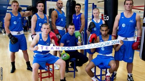 The Commonwealth Games boxing begins on Friday 25 July