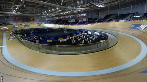The Sir Chris Hoy Velodrome
