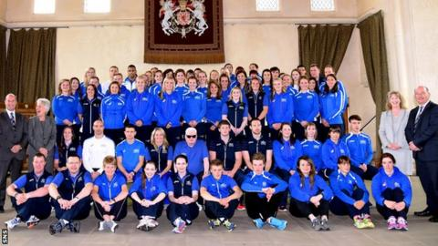 Team Scotland are chasing a Commonwealth Games record medal haul