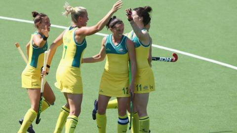 Australia hit Wales for nine