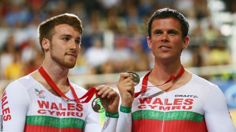 Matt Ellis and pilot Ieuan Williams secured bronze in the men's para-sport 1000m time trial B2 tandem.