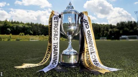 Scottish Challenge Cup trophy