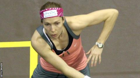 Madeline Perry lost to Joelle King in the quarter-finals in Glasgow