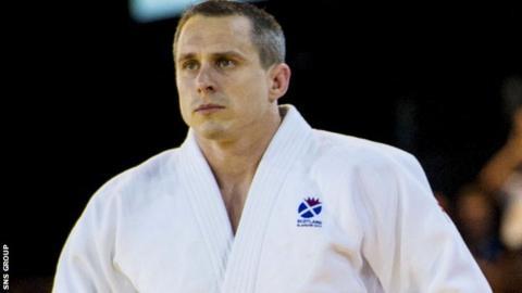Scottish judoka Euan Burton