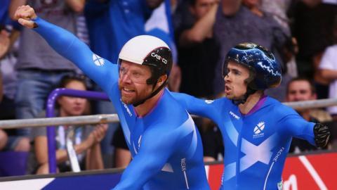 Scottish para-cyclist Neil Fachie and pilot Craig MacLean