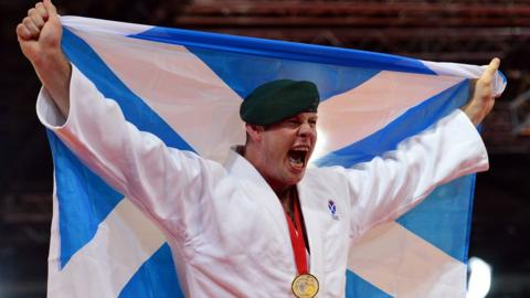 Scottish judoka Chris Sherrington