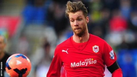 Norwegian striker Jo Inge Berget
