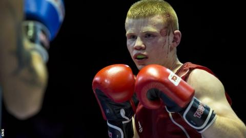 Scottish boxer Charlie Flynn