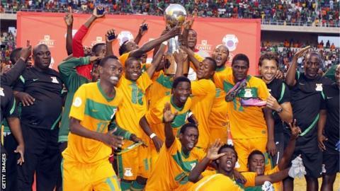 Zambia won the 2103 Cosafa Cup
