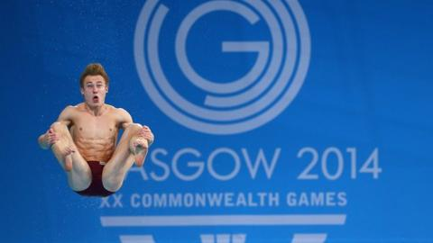 England's Jack Laugher takes silver in the 3m springboard final