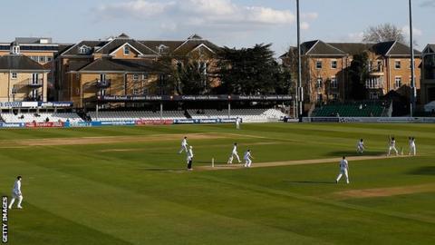 Essex cricket ground at Chelmsford