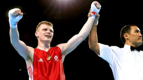 Glasgow 2014: Charlie Flynn beats Fitzpatrick to light gold
