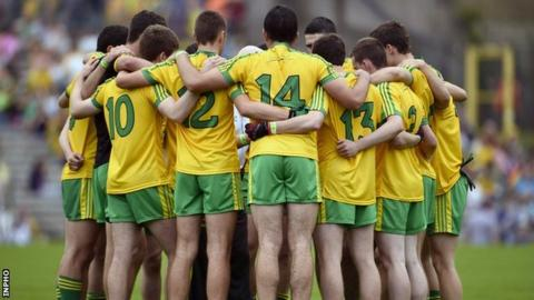 Donegal minors beat Armagh in last month's Ulster MFC final