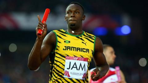 Usain Bolt and Jamaica win 4x100m relay gold