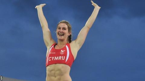 Sally Peake had attempted to equal her Welsh record in her bid for gold