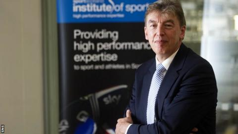 Sportscotland Institute of Sport high performance director Mike Whittingham