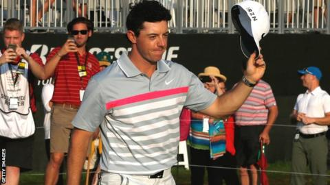 McIlroy is just 0.17 points ahead of Adam Scott in the rankings