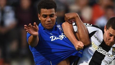 Birmingham City midfielder Tom Adeyemi