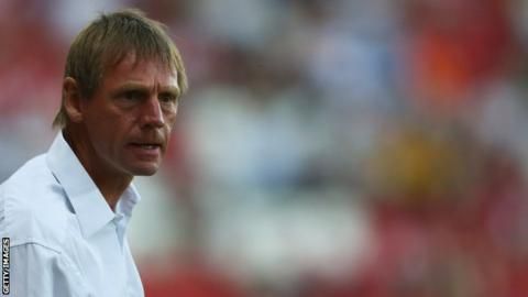 Nottingham Forest manager Stuart Pearce