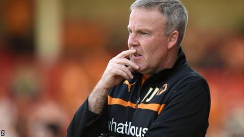 Kenny Jackett, Wolverhampton Wanderers manager