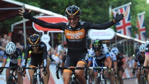 British cyclist Laura Trott