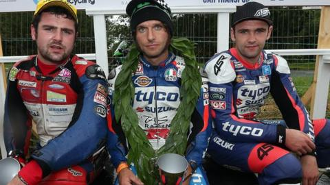Michael Dunlop, Guy Martin and William Dunlop
