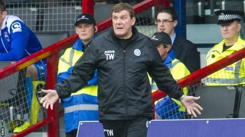 St Johnstone manager Tommy Wright wants a replacement for Stevie May.