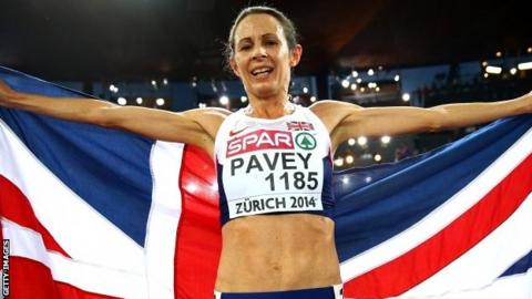 Britain's Jo Pavey