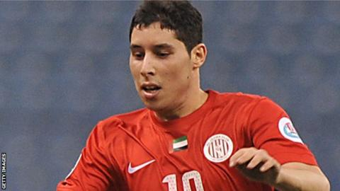 Morocco's Abdelaziz Barrada