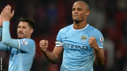 Manchester City captain Vincent Kompany