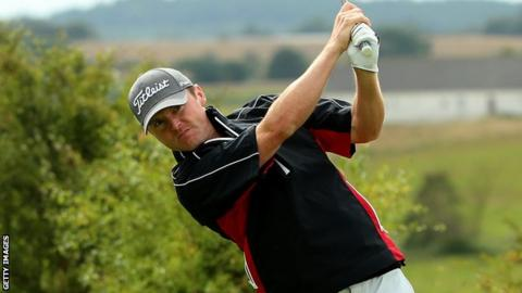 Michael Hoey is currently 40th in the Race to Dubai standings