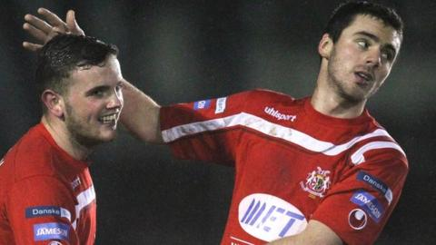 Darren Murray and Chris Ramsey return to the Portadown panel for the game at Ballymena