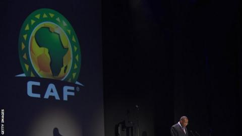 The Confederation of African Football logo