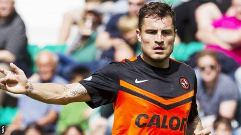 Dundee United midfielder Paul Paton