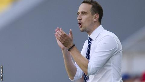 England women's coach Mark Sampson