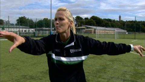 Former Scotland ladies international player Shelley Kerr
