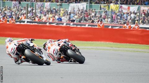 The 2013 British MotoGP