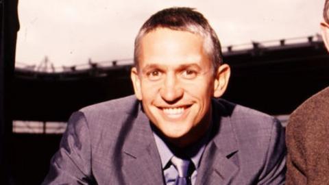MOTD presenter Gary Lineker