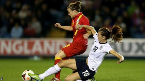 England Women beat Wales in their previous Group 6 encounter