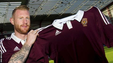 New Hearts signing Adam Eckersley