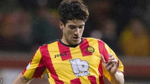 Gabriel Piccolo has left Firhill