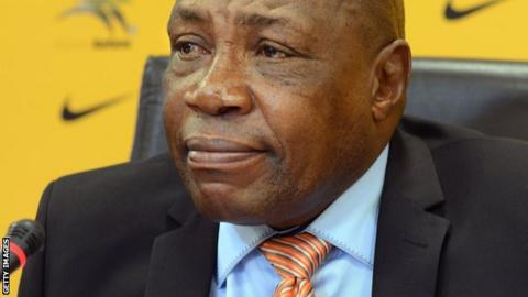 New South Africa coach Ephraim 'Shakes' Mashaba