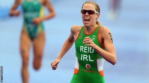 Aileen Reid competed at the London Olympics for Ireland