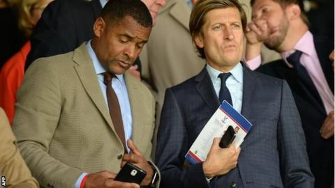 Mark Bright and Steve Parish
