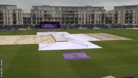 Rain at Bristol