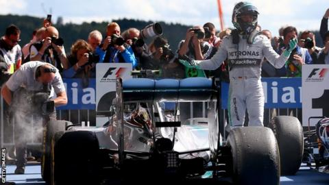 "Rosberg says his version of events is ""very different"" to Hamilton's"
